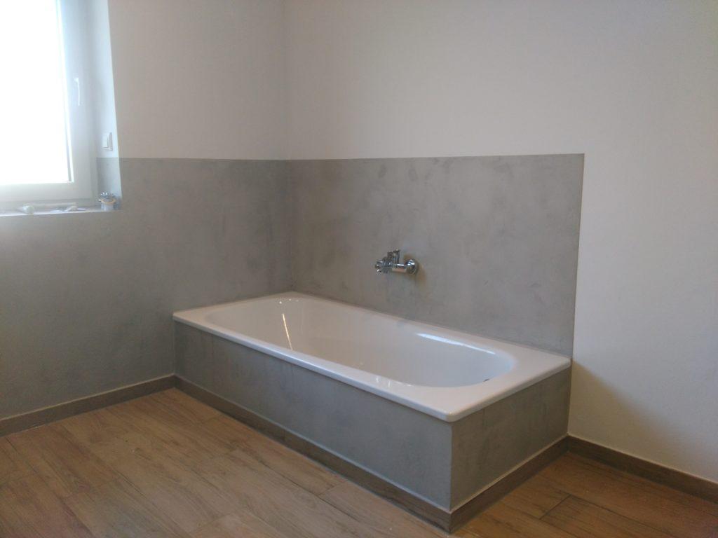 Betonoptik für die Badgestaltung